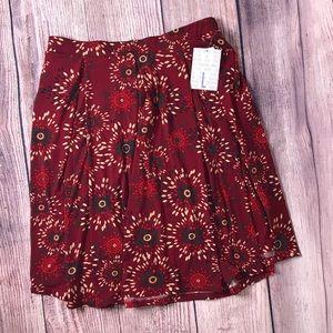 Lularoe Madison Skirt Large NWT